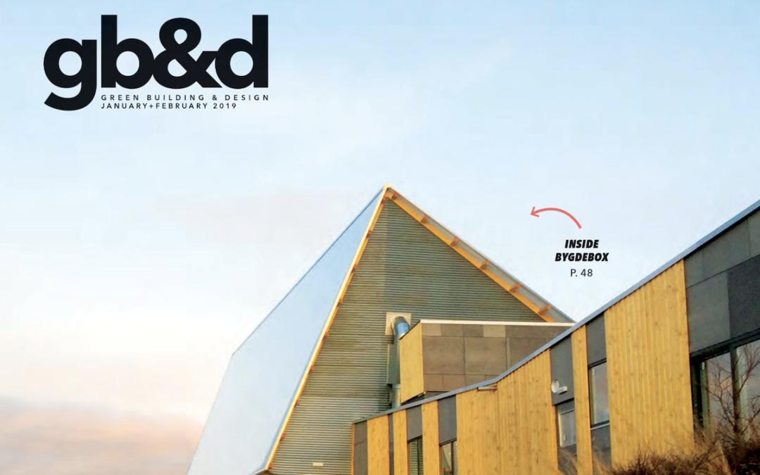 Green Building & Design Magazine – Jan-Feb 2019 Issue