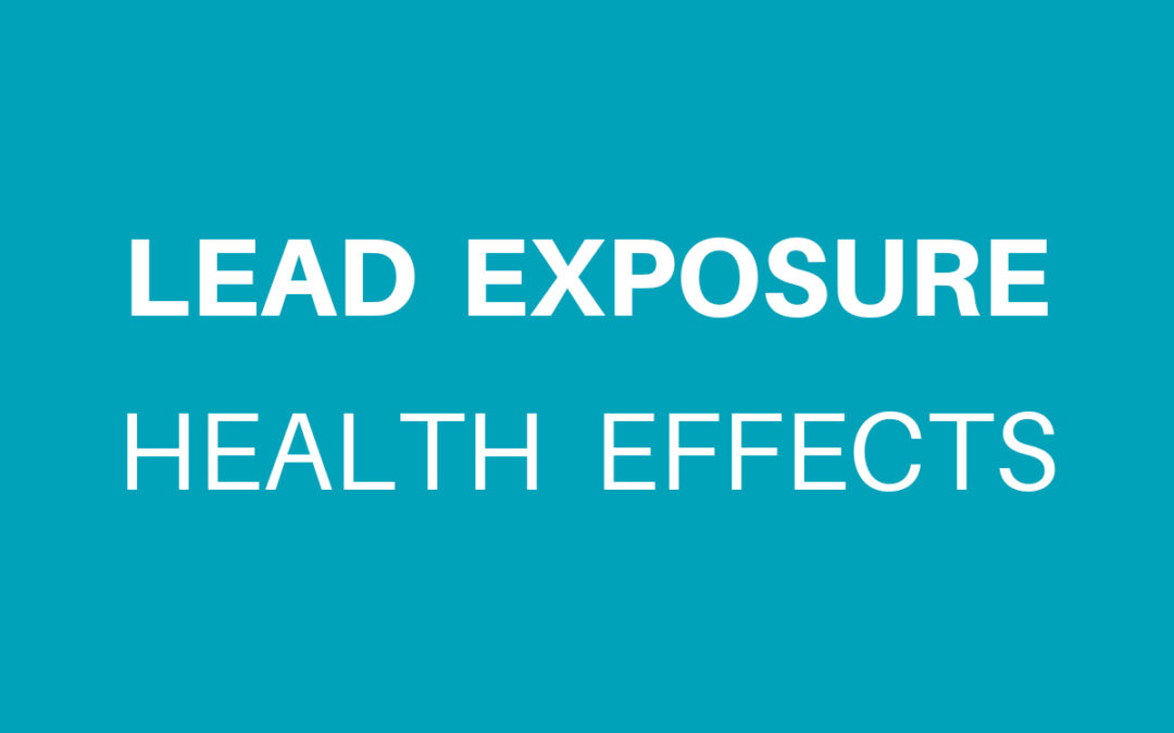 Lead Exposure Health Effects